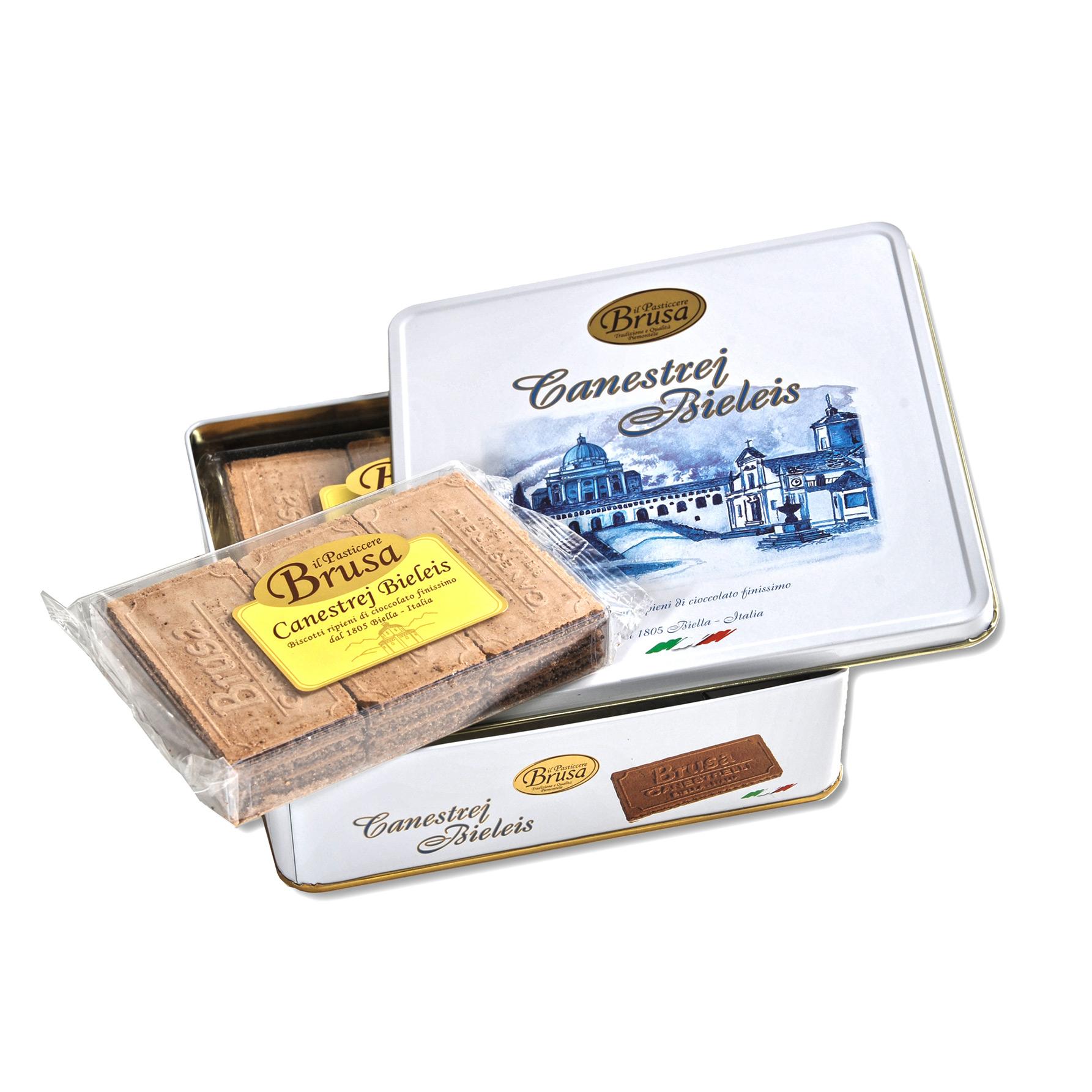 canestrelli-biellesi饼干-铁盒装-270g