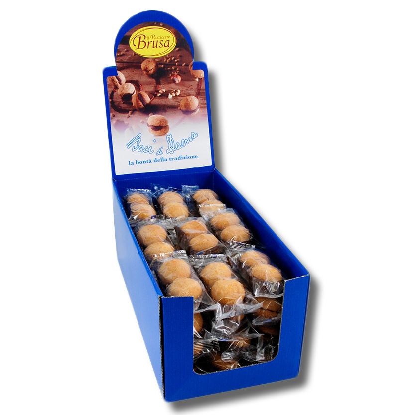 带展示盒的小包装baci-di-dama淑女之吻饼干-2个装