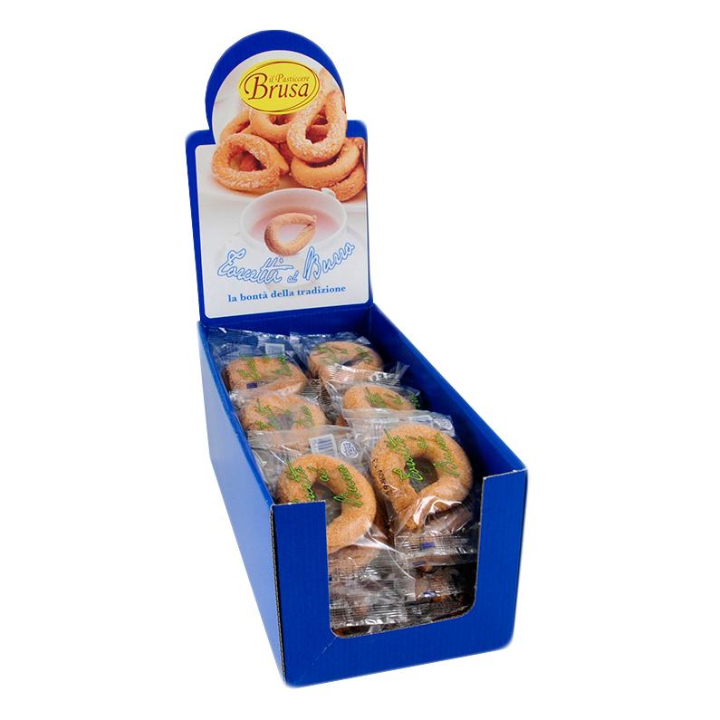带展示盒的小包装torcetti黄油圈香酥圈-1个装